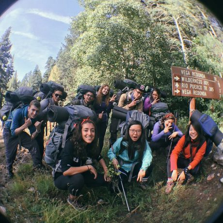 Wilderness vandring på UWC -USA Bild: Anneli Xie